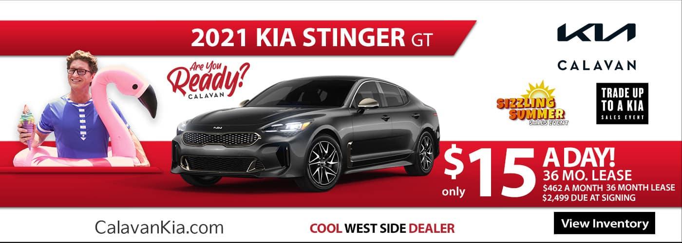New 2021 Kia Stinger - June