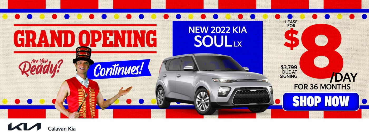 New 2022 Kia Soul - Lease for $8 a day for 36 months - Shop Now