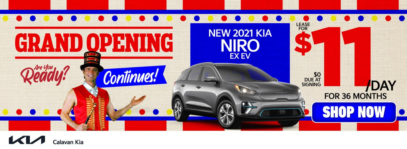 New 2021 Kia Niro - Lease for $11 a day for 36 months - Shop Now