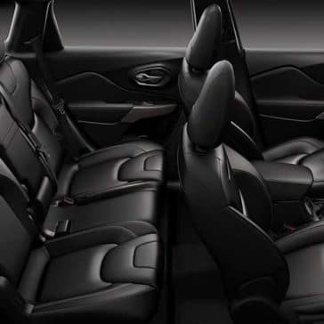 2018 Jeep Cherokee seating