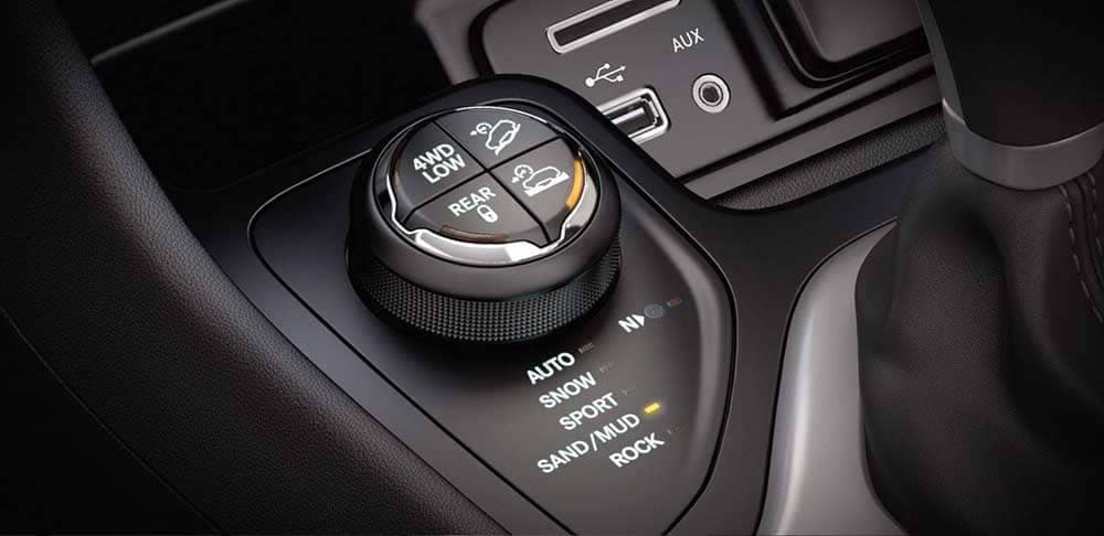 2018 Jeep Cherokee 4x4 systems