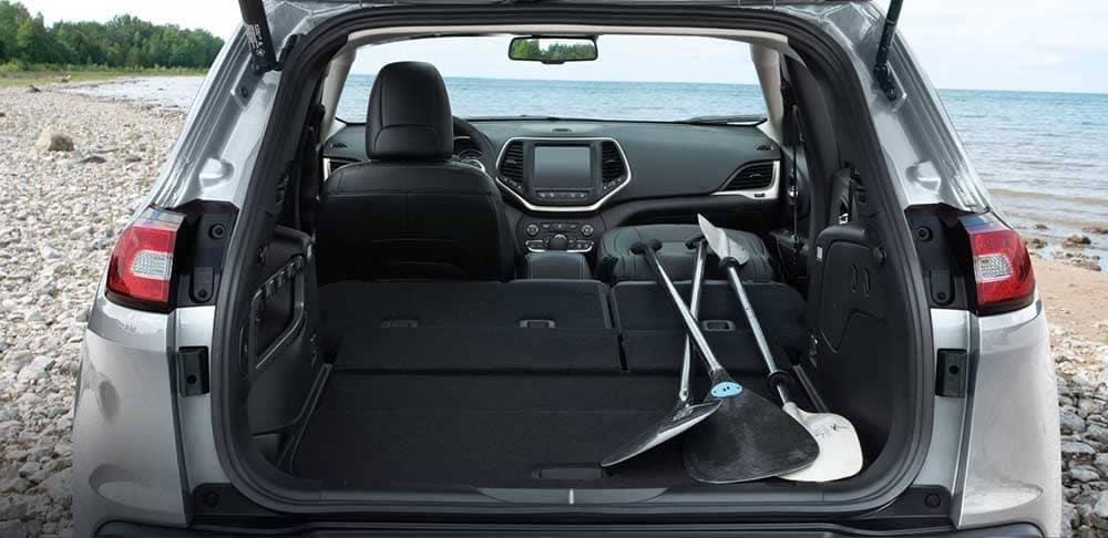 2018 Jeep Cherokee cargo space