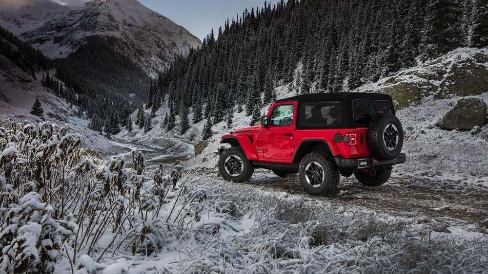 2018 Jeep Wrangler off-road