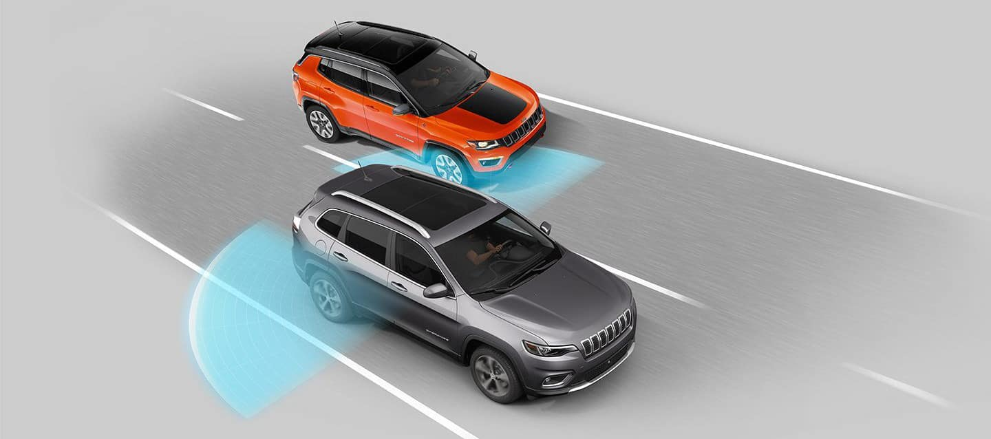 2019 Jeep Cherokee Blind Spot Monitoring Safety System