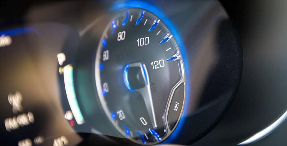 2019 Chrysler Pacifica instrument display panel