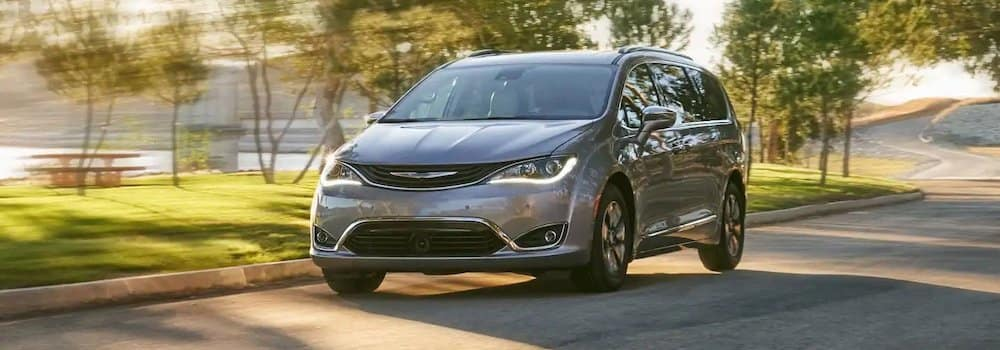 2019 Chrysler Pacifica on the road