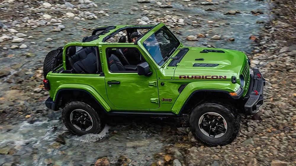 2019 Jeep Wrangler in green