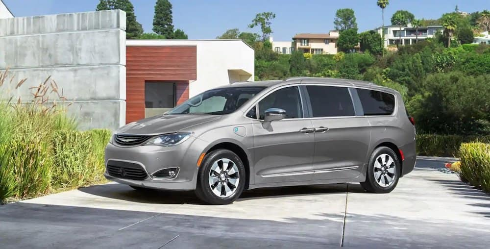 Parked 2019 Chrysler Pacifica