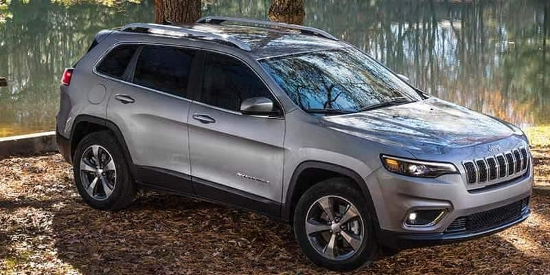 2019 Jeep Cherokee Limited off road