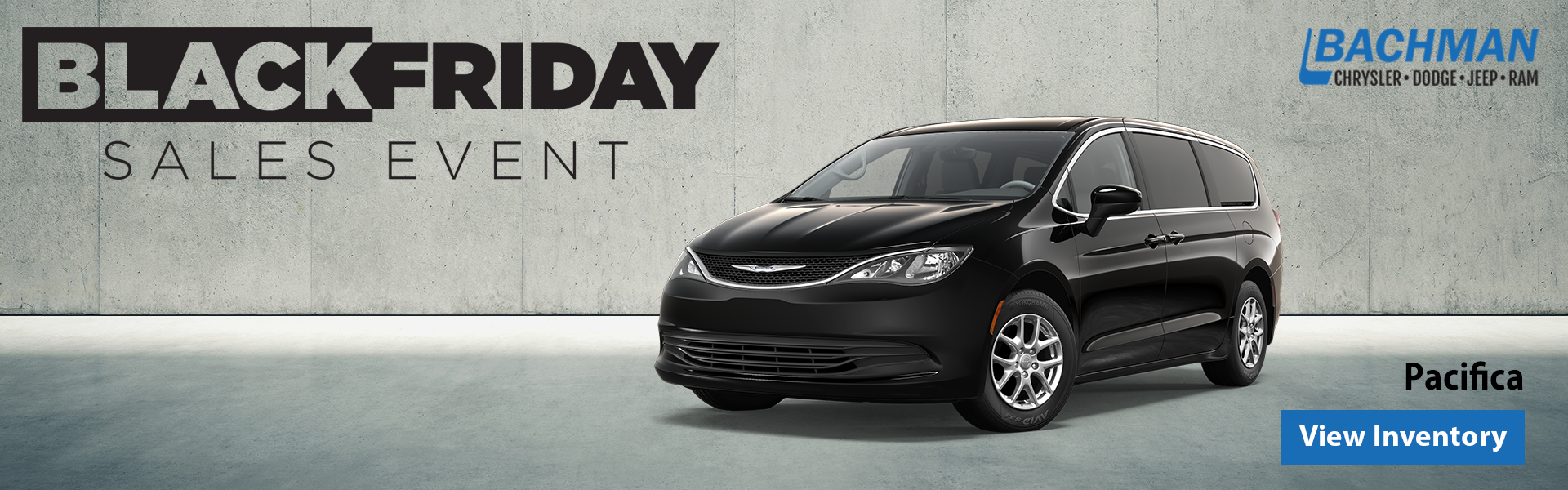 Black Friday Sales Event Pacifica