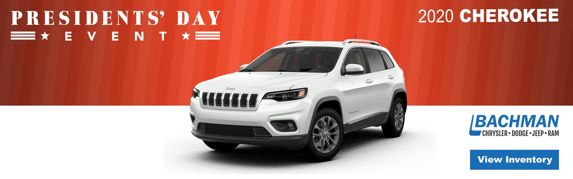 Presidents Day Sales Event Cherokee