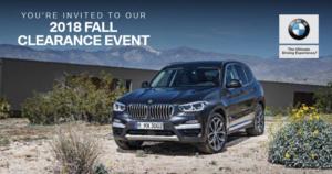 BMW FALL EVENT