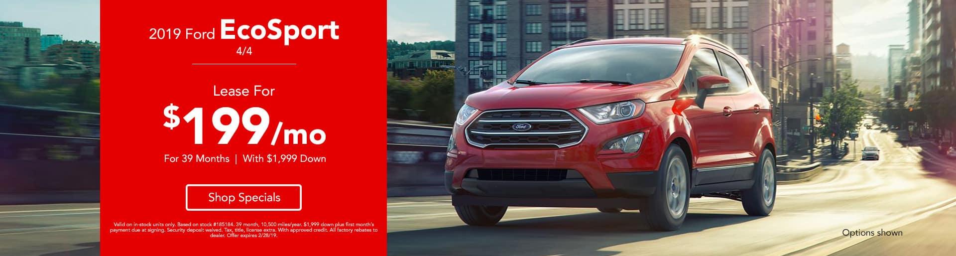 2019 Ford EcoSport 4/4