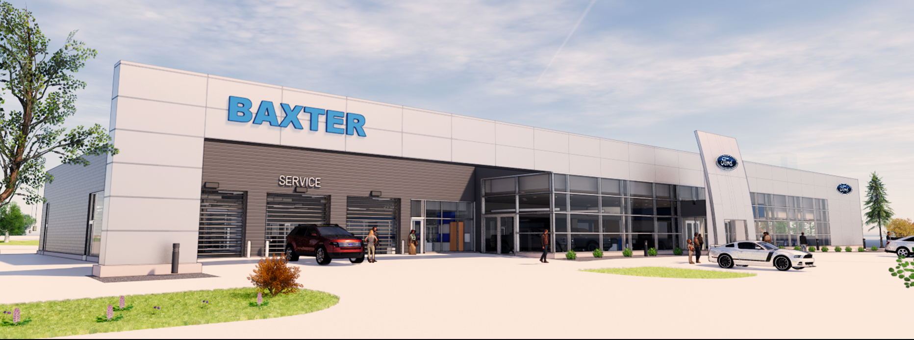 Baxter Ford Papillion Store Front