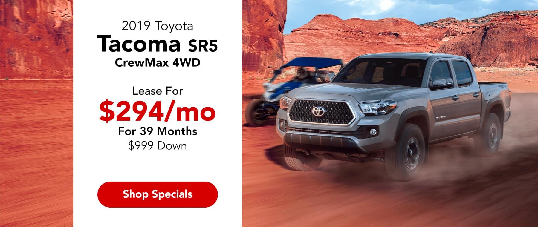 2019 Toyota Tacoma SR5 CrewMax 4WD