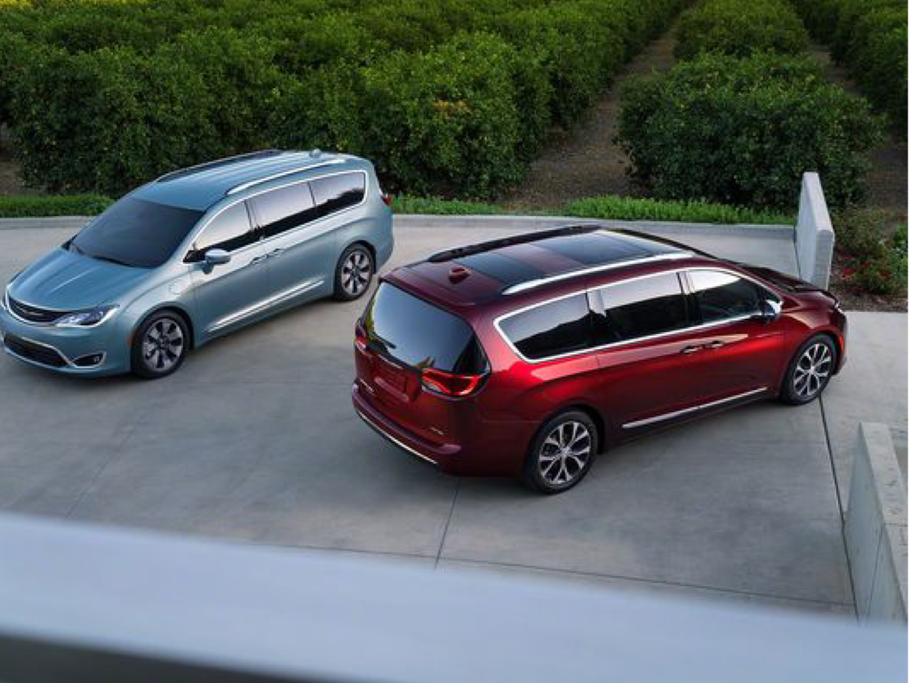 Pacifica Touring & Limited available in Hybrid