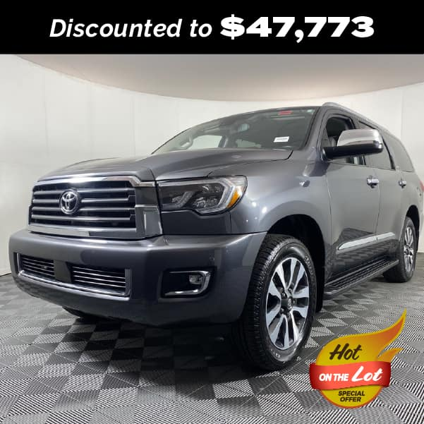 PRE-OWNED 2020 TOYOTA SEQUOIA LIMITED