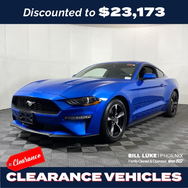 PRE-OWNED 2020 FORD MUSTANG ECOBOOST