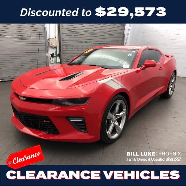 PRE-OWNED 2017 CHEVROLET CAMARO SS 1SS