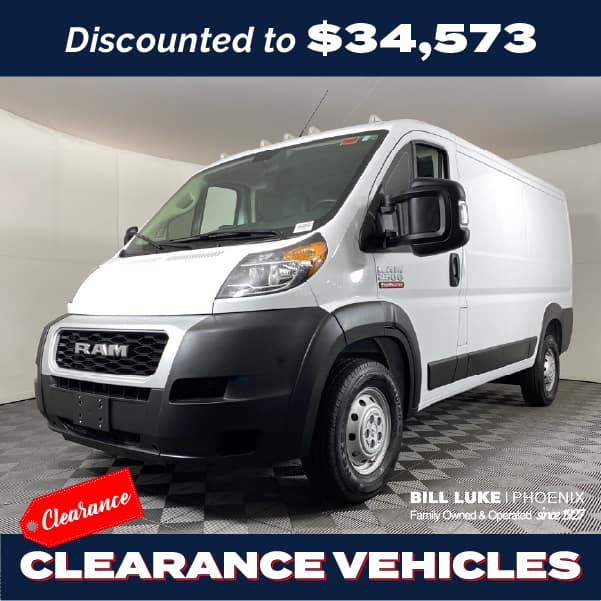 PRE-OWNED 2021 RAM PROMASTER 2500 BASE FWD 3D CARGO VAN