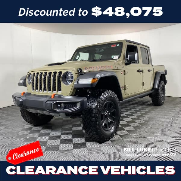 PRE-OWNED 2020 JEEP GLADIATOR MOJAVE 4WD