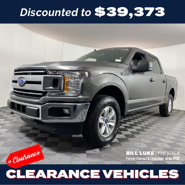 PRE-OWNED 2019 FORD F-150 XLT 4WD