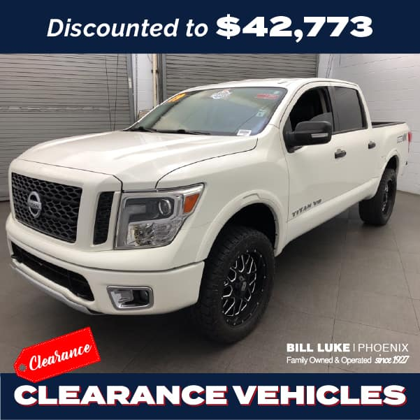 PRE-OWNED 2019 NISSAN TITAN PRO-4X 4WD