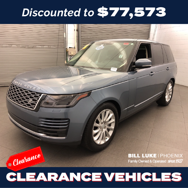 PRE-OWNED 2018 LAND ROVER RANGE ROVER 3.0L V6 SUPERCHARGED HSE 4WD