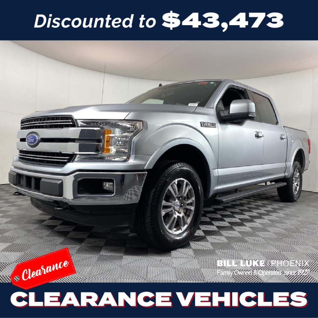 PRE-OWNED 2020 FORD F-150 LARIAT 4WD