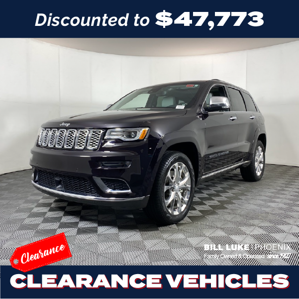 CERTIFIED PRE-OWNED 2019 JEEP GRAND CHEROKEE SUMMIT 4WD