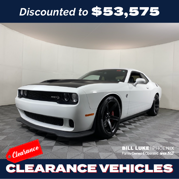 Pre-Owned 2017 Dodge Challenger SRT Hellcat