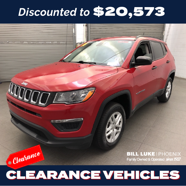 CERTIFIED PRE-OWNED 2018 JEEP COMPASS SPORT 4WD