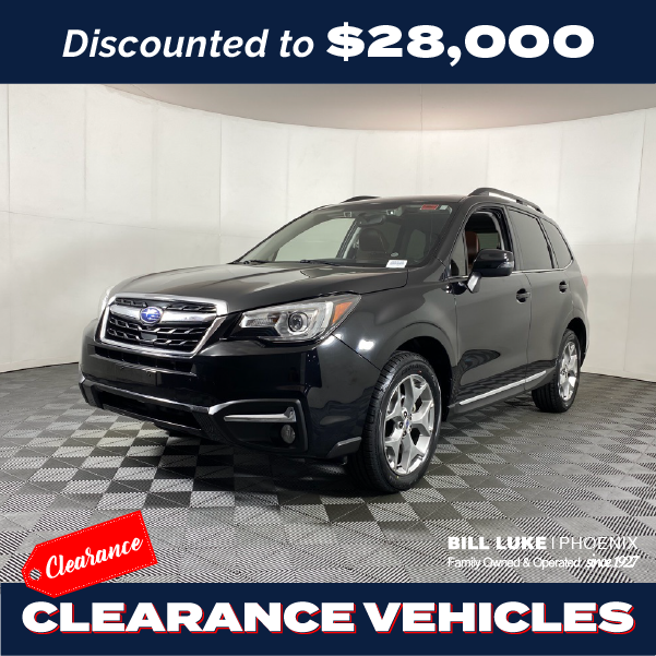 PRE-OWNED 2018 SUBARU FORESTER 2.5I TOURING AWD