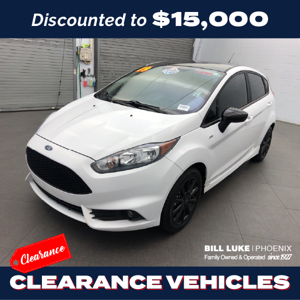 PRE-OWNED 2019 FORD FIESTA ST LINE