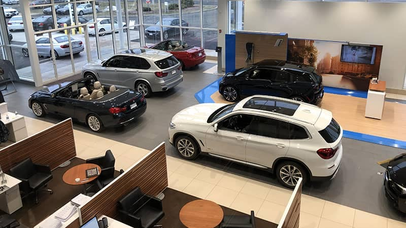 BMW of North Haven Showroom