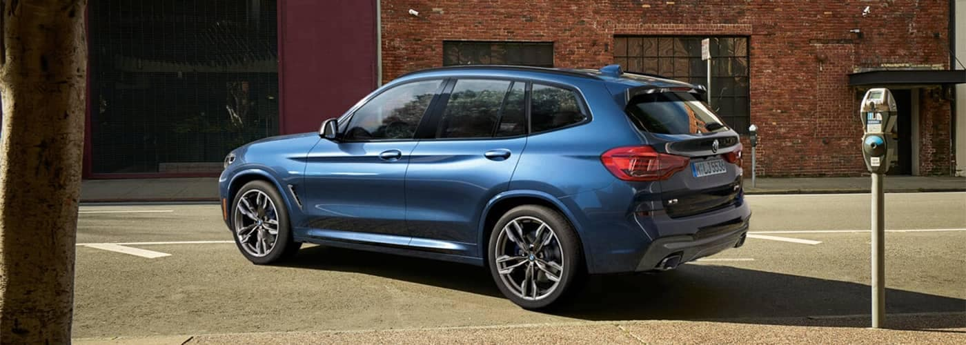 2019 BMW X3 Parked on Street