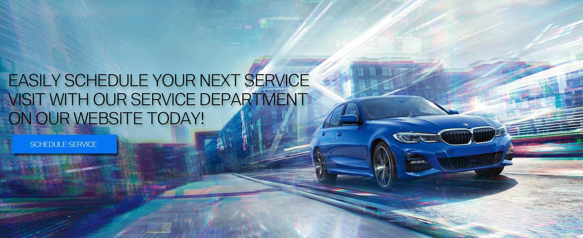 Schedule Service BMW FMA