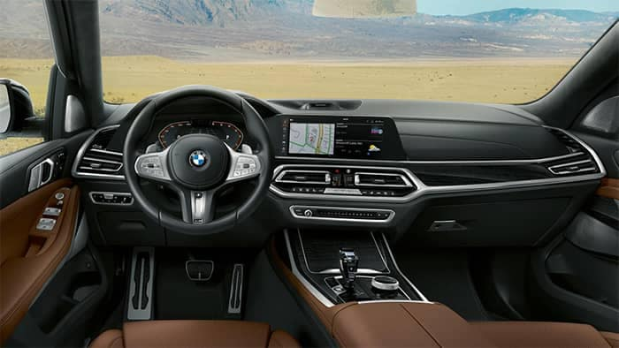BMW X7 Interior Front Dashboard Area