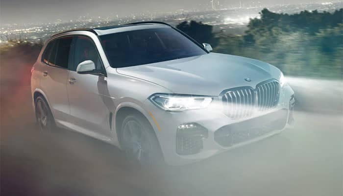 2020 BMW X5 Driving in the Fog