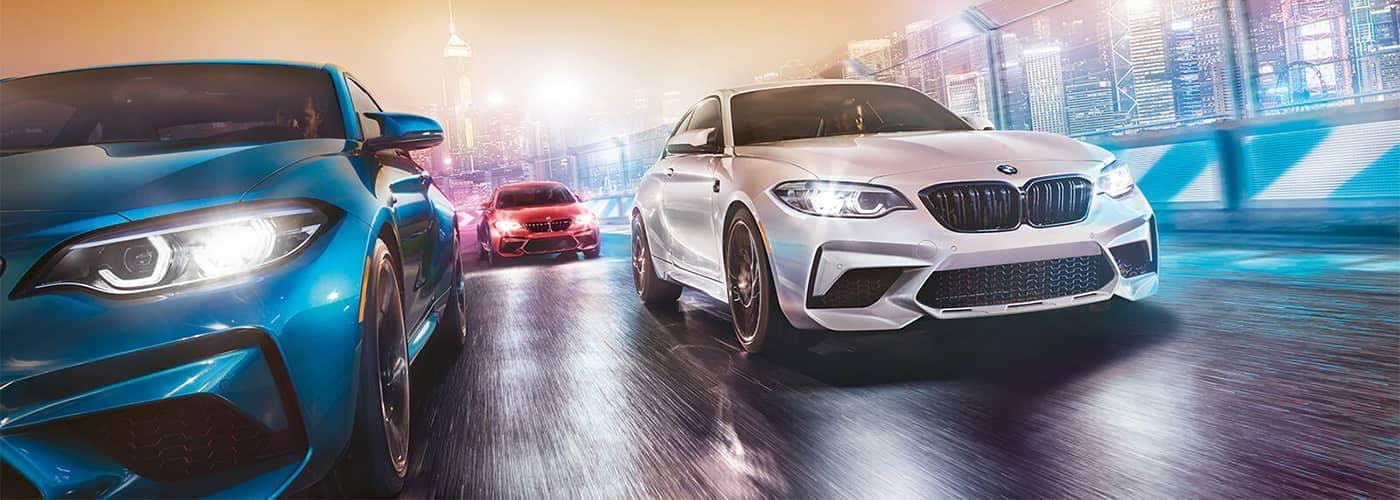 BMW M Series Models Driving