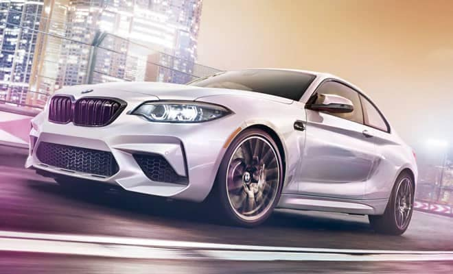BMW M2 Competition Coupe Driving