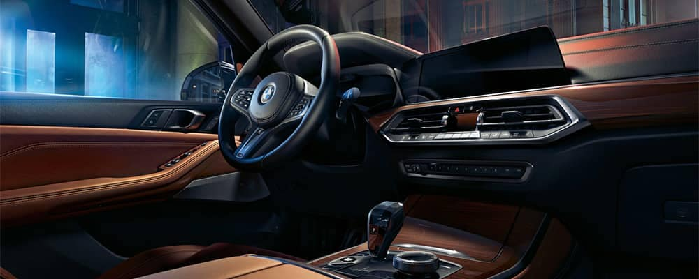 2020 BMW X5 Interior Dashboard and Steering Wheel