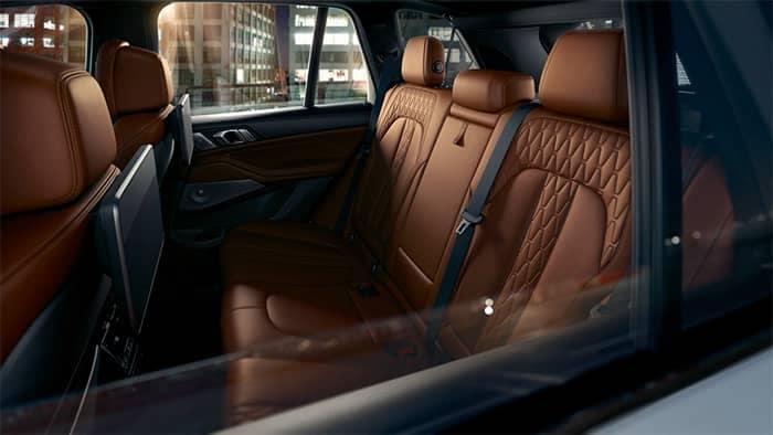 2020 BMW X5 Rear Seat