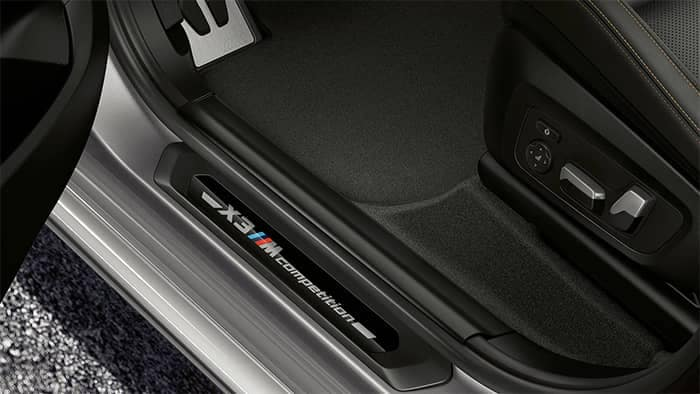 BMW X3 M Compeition Interior Door Jam