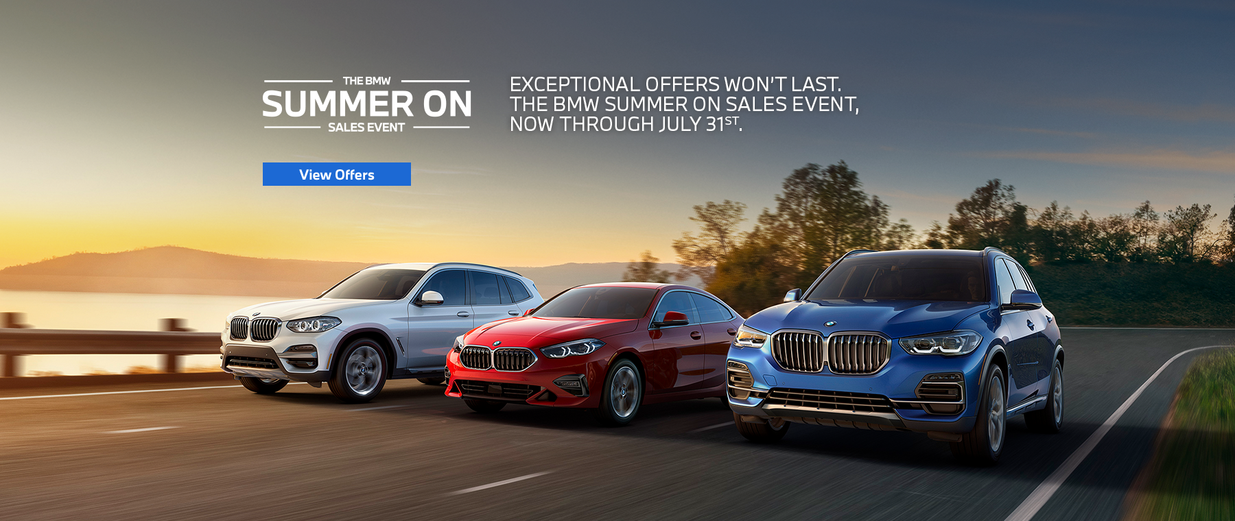 Summer On Sales Event Now through 7/31