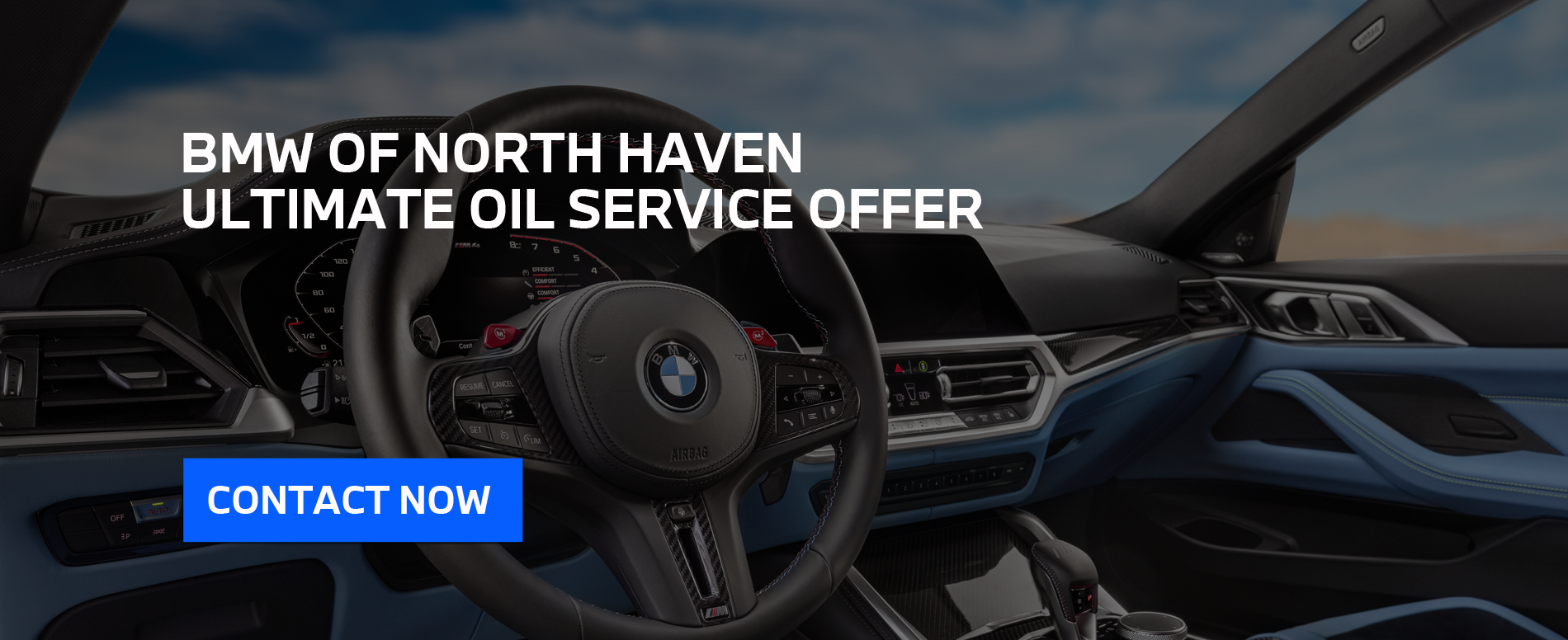 BMWNH Ultimate Service Offer Hero Image