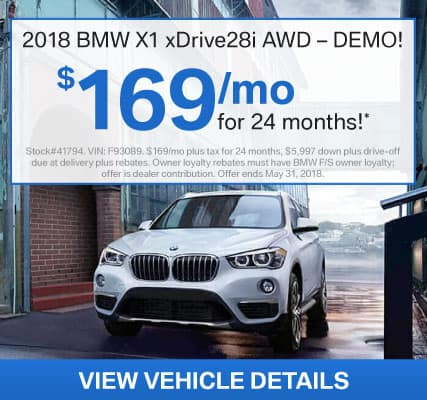 Shop BMWSF Low Lease Offers
