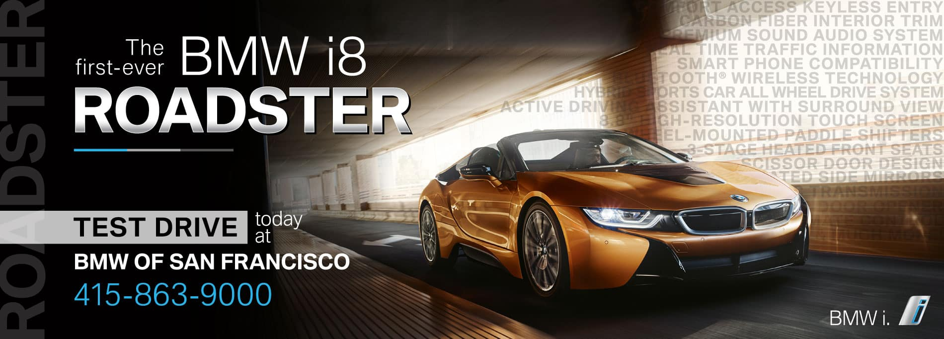 2019 Bmw I8 Roadster Bmw Of San Francisco