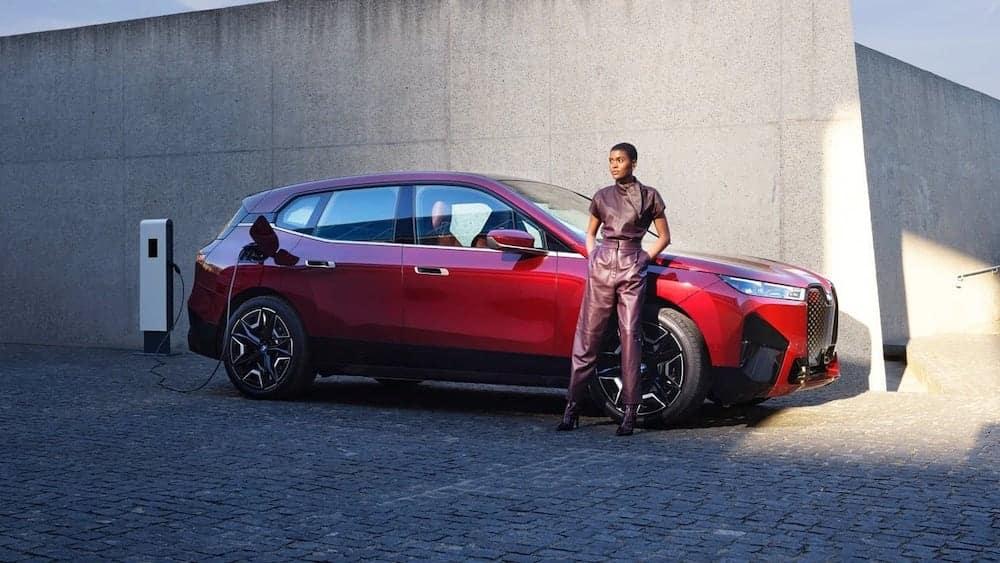 BMW iX Charging