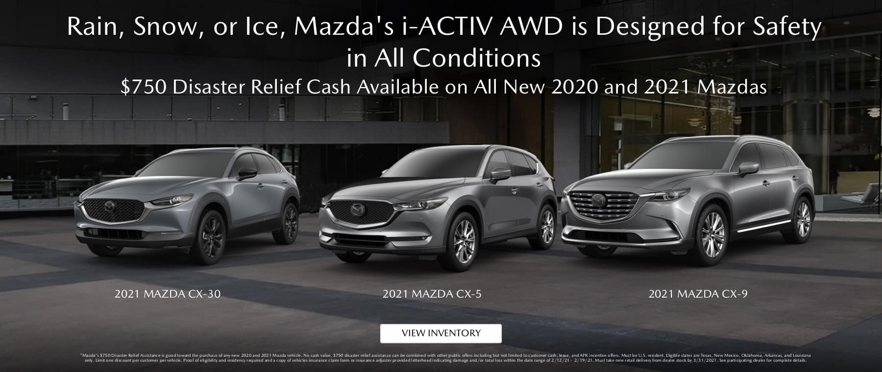 Mazda Disaster Relief